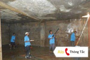 Thau Rửa Bể Nước Tại TPHCM